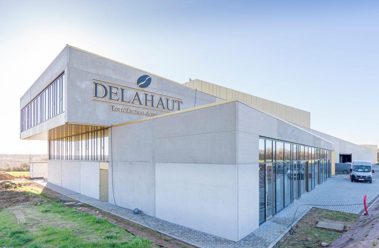 Cafés Delahaut à Ecolys - copyright BSolutions